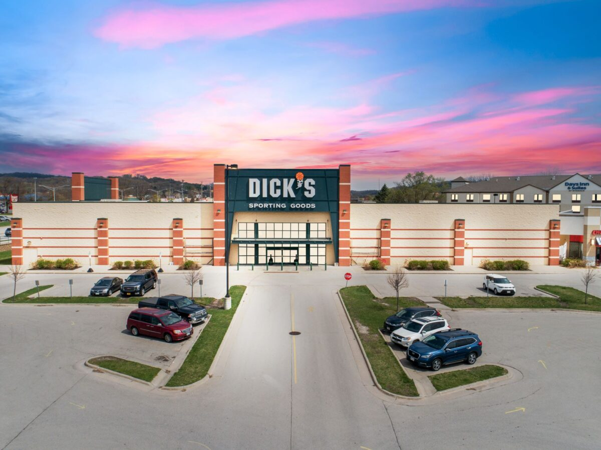 Dick's Sporting Goods, Chuck E. Cheese, and Play It Again Sports